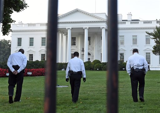Should bushes have stopped White House intruder?