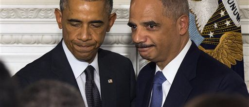 Obama playing coy about naming new AG