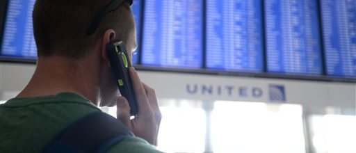 Sabotage strikes America's air travel system