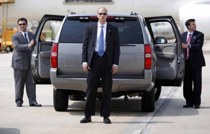 Secret Service assigned to cover domestic abuse?