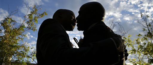Gay couples now marrying in Las Vegas