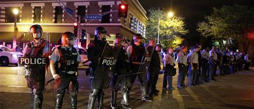More protests in St. Louis over police shooting of young black