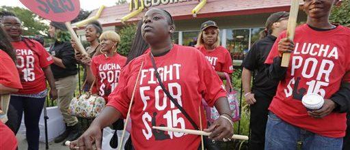 Democrats love to see minimum wage on ballots