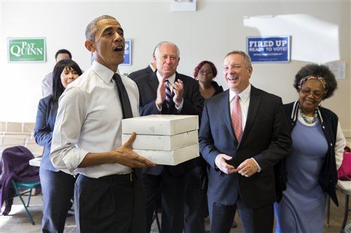 Obama's bittersweet visit home