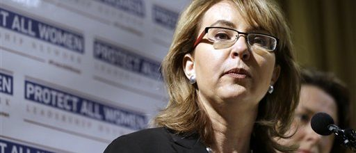 Giffords struggles to make guns a mid-term issue