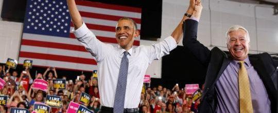 Obama picks few campaigns this season