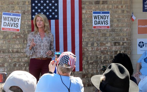 Is Wendy Davis ready to accept defeat?