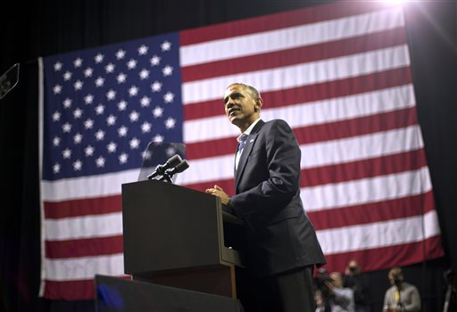 With Senate at stake, the focus is on Obama