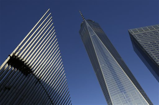 A new World Trade Center opens in New York City