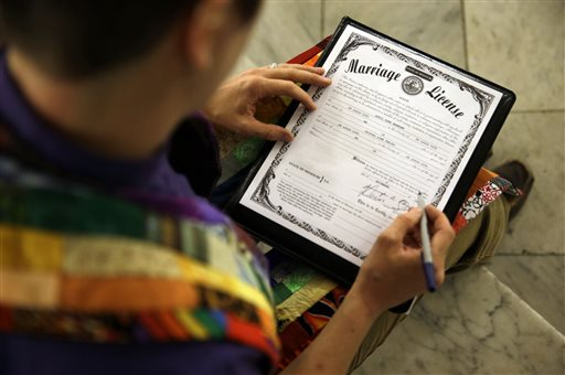 How courts differ on gay marriage rulings