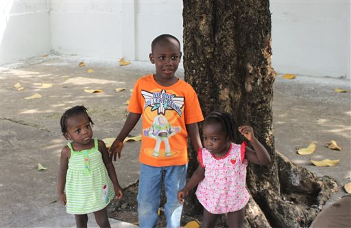 Ebola epidemic's orphans, adoption problems
