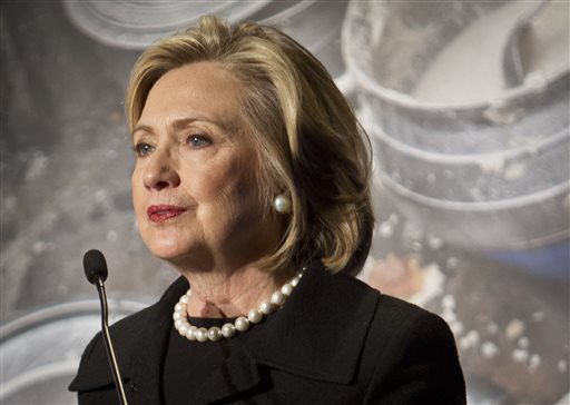 Does Hillary Clinton smell like a new car?