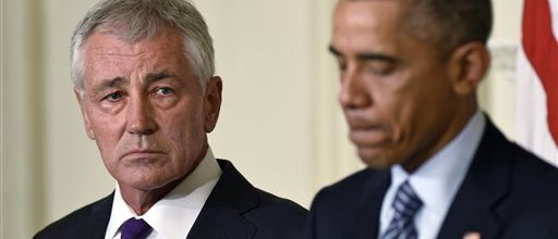 Hagel's ouster leaves a big mess behind