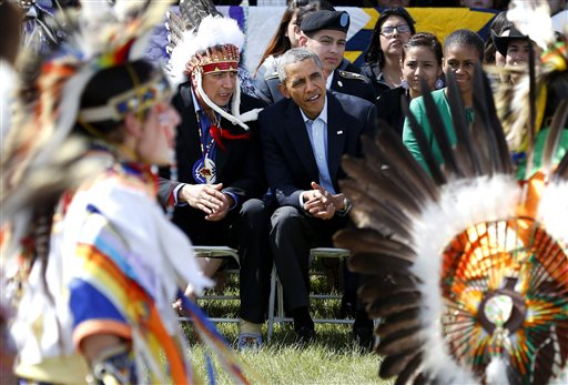 Obama wants to help American Indian youth