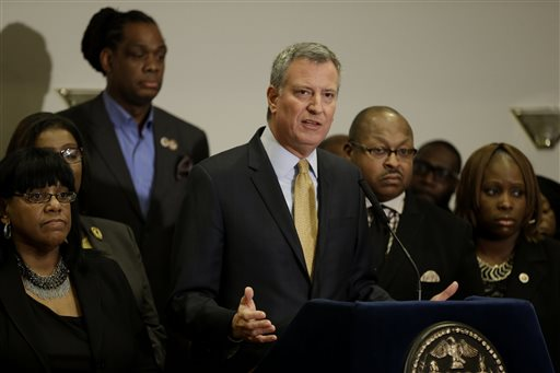 A white mayor deals with New York racial tensions