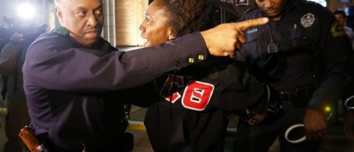 Black fraternities torn by protests over deaths