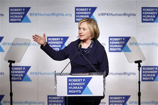 Hillary Clinton decries torture