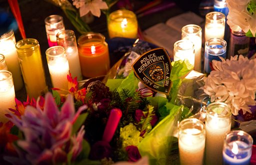 Police on alert nationwide after killing of NYPD officers