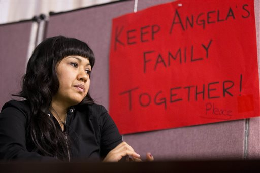 Immigrant mom lives in church refuge