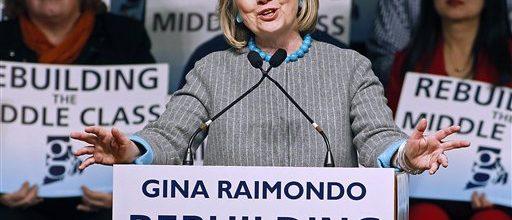 Clinton's economic message under scrutiny