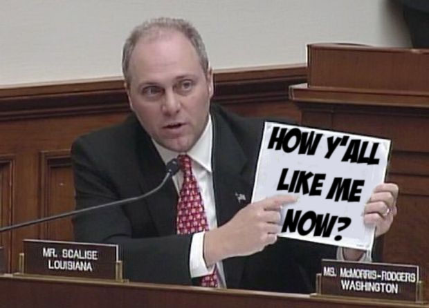 Republicans back Scalise in white supremacist flap