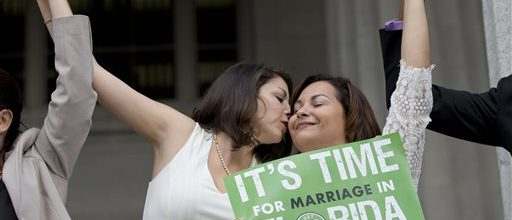 Gay marriages underway now in Florida