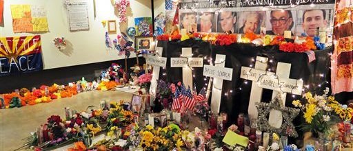 Memorial in the works for Giffords' shooting