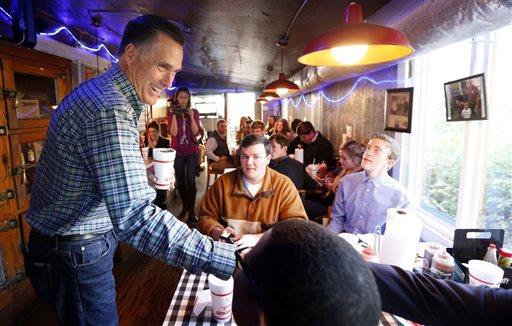 Romney sounds wistful, humorous about Presidential run