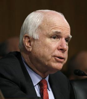 McCain calls protestors 'low-life scum'