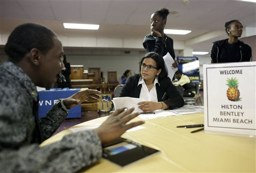 Job market frustrations continue for unemployed