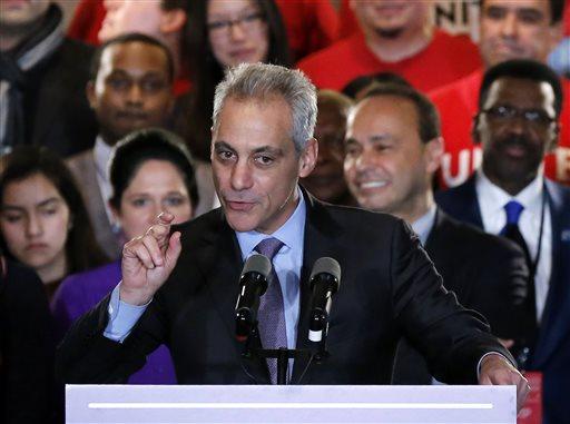 Rahm Emanuel faces runoff in Chicago Mayor's race