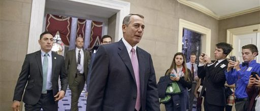 Has Boehner survived the Homeland Security debacle?