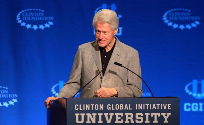Bill Clinton defends foreign donations to his foundation