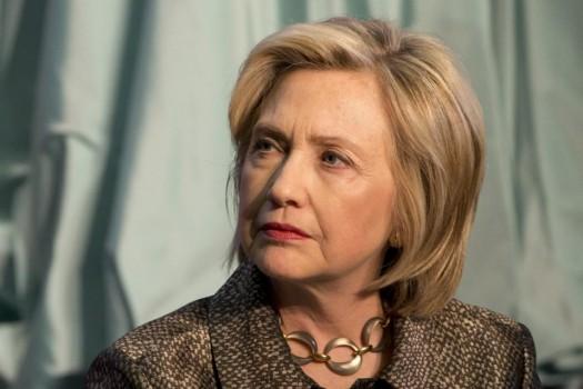 Democratic presidential candidate Hillary Rodham Clinton.  (AP Photo/Jacquelyn Martin)
