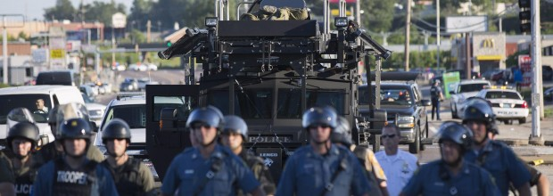 Obama limits military hardware for police use