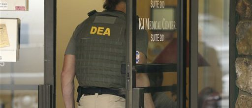 DEA nails clinics, pharmacies for drug abuse