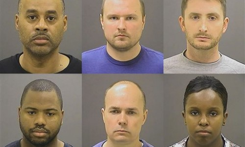 Six cops indicted in Freddie Gray death