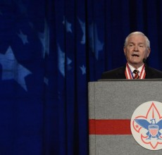 Boy Scouts boss says time to end ban on gay leaders