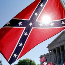 Klan plays to rally around the Confederate flag