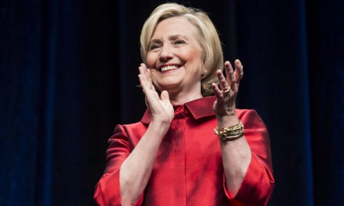 Hillary Clinton raises $45 million from donors