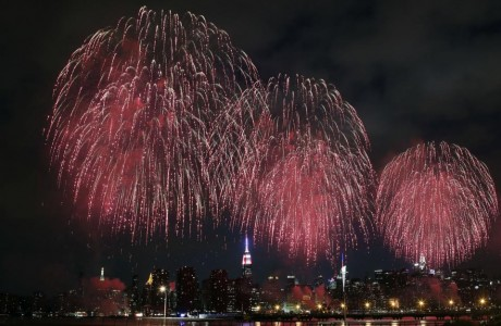 Amid tight security, America celebrates the Fourth