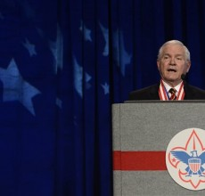 Boy Scouts end ban against gay leaders, but…