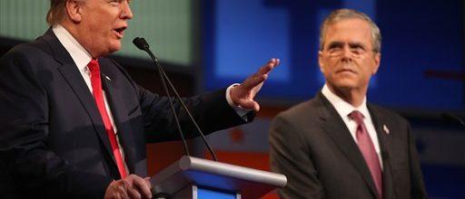 In debate, Republicans plan to take on Trump