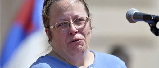 Will Kentucky clerk obey the law?