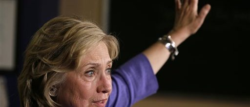 For Clinton, a new war against Citizens United