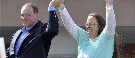 Kim Davis case divides Christians