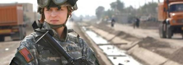 Marines at war against women in combat