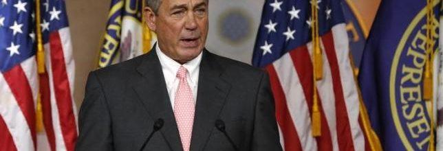 Boehner:  'No government shutdown'