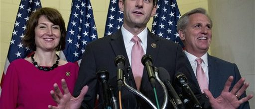 GOP set to make Ryan House Speaker