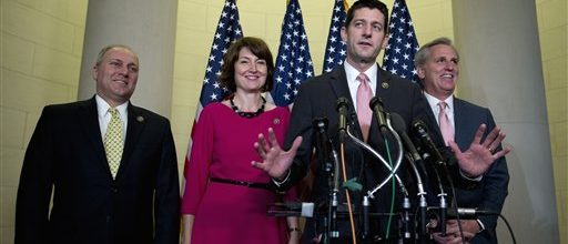 Chaotic GOP elects Ryan new Speaker